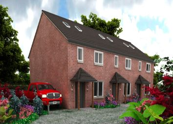 Thumbnail 3 bed terraced house for sale in Redbrick Place Station Road, Madeley, Crewe