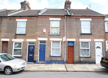 Thumbnail 2 bed terraced house to rent in Strathmore Avenue, Luton