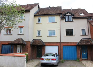 Thumbnail 3 bed town house for sale in Wesley Close, Taunton, Somerset