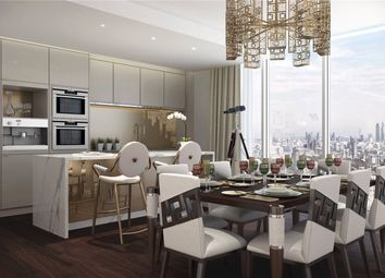 Thumbnail 4 bed flat for sale in Versace Tower, Nine Elms, London