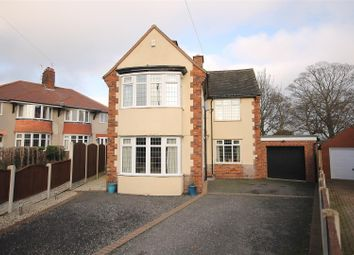 Thumbnail 3 bed detached house for sale in Mansfeldt Crescent, Newbold, Chesterfield