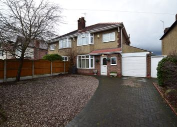 Thumbnail 3 bed semi-detached house for sale in Cavendish Drive, Bebington