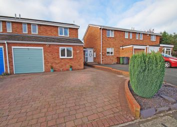 Thumbnail 3 bed semi-detached house for sale in Woburn Close, Bromsgrove