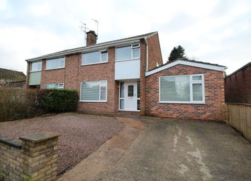 Thumbnail 3 bed semi-detached house for sale in West Lane, Cuddington, Northwich