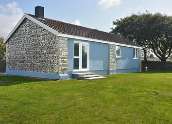Thumbnail 3 bed detached bungalow for sale in Tregellas Road, Mullion, Helston