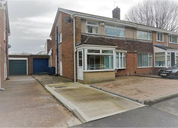 Thumbnail 3 bedroom semi-detached house for sale in Cheviot Road, Jarrow