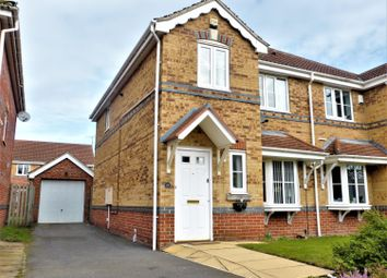Thumbnail 3 bed semi-detached house for sale in Manor Way, Bolton Upon Dearne, Rotheham