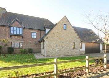 Thumbnail 5 bedroom detached house for sale in The Woodlands, Chesterton