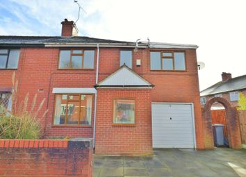 Thumbnail 4 bed semi-detached house to rent in Beckett Avenue, Longton, Stoke-On-Trent