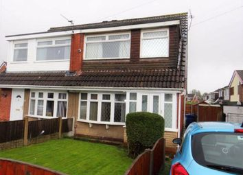 Thumbnail 3 bed semi-detached house for sale in Rushton Avenue, Leigh