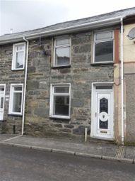 Thumbnail Terraced house to rent in Manod Road, Blaenau Ffestiniog, Gwynedd