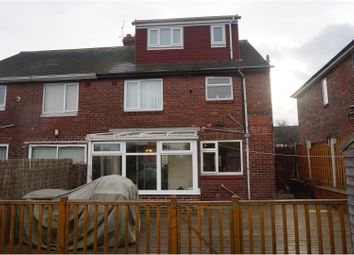 Thumbnail 3 bed semi-detached house for sale in Christchurch Road, Rotherham