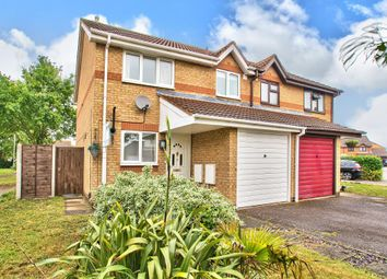Thumbnail 3 bed semi-detached house for sale in St Helenas Garden, Elstow, Bedford
