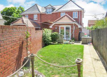 Thumbnail 3 bedroom semi-detached house for sale in Sculpher Gardens, Fakenham