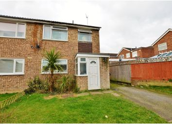 Thumbnail 3 bed semi-detached house for sale in Lime Grove, Bugbrooke, Northampton