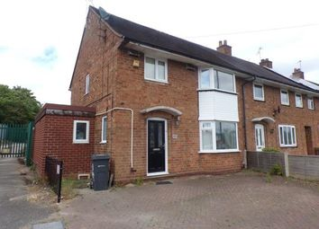 Thumbnail 3 bed end terrace house for sale in Court Oak Road, Birmingham, West Midlands
