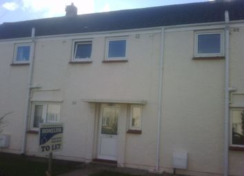 Thumbnail 3 bedroom terraced house to rent in Furzy Park, Haverfordwest