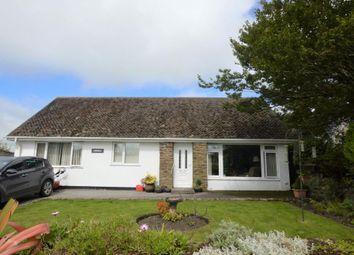 Thumbnail 5 bed detached bungalow for sale in Crowan, Praze, Camborne, Cornwall