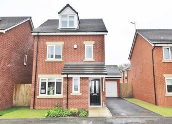 Thumbnail 4 bed detached house for sale in Manse Gardens, Goose Green, Wigan