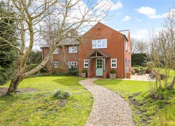 Thumbnail 4 bed detached house for sale in Clatford, Marlborough, Wiltshire