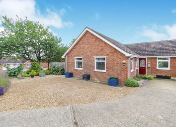 Thumbnail 3 bed detached bungalow for sale in Rogeron Close, Sudbury