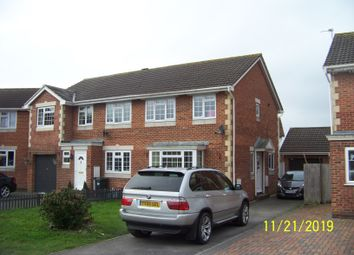 Thumbnail 3 bed semi-detached house to rent in 12 Sophia Gardens, Worle, Weston-Super-Mare