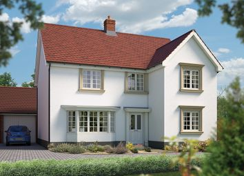 "Thumbnail 5 bedroom detached house for sale in ""The Chester"" at Silfield Road, Wymondham"
