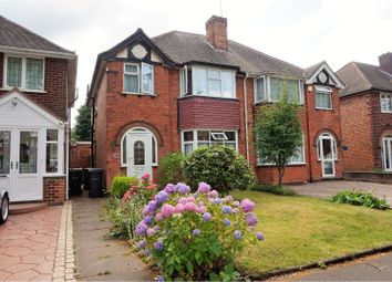 Thumbnail 3 bedroom semi-detached house for sale in Beaufort Avenue, Birmingham
