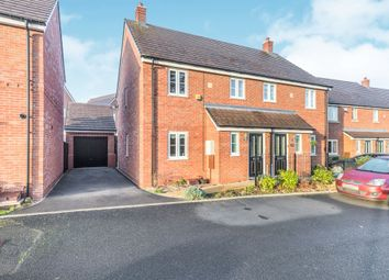 Thumbnail 3 bed semi-detached house for sale in Farndon Avenue, Marston Green, Birmingham