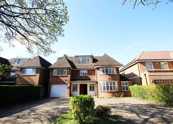 Thumbnail 6 bed detached house to rent in Arkley Lane, Arkley, Hertfordshire