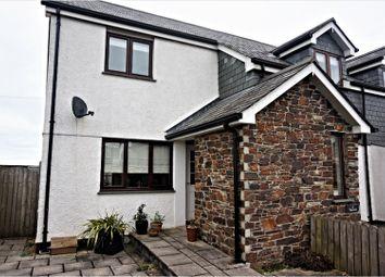 Thumbnail 2 bedroom end terrace house for sale in Churchtown, Wadebridge