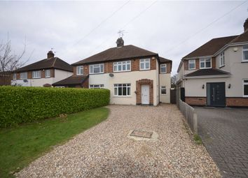 Thumbnail 4 bed semi-detached house for sale in Lawn Close, Datchet, Slough