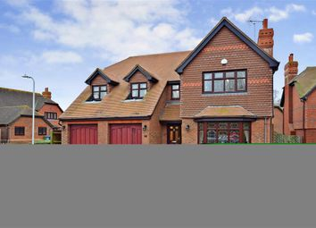 Thumbnail 4 bed detached house for sale in Woodruff Close, Upchurch, Kent