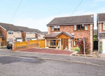 Thumbnail 4 bed detached house for sale in Hackworth Close, Newthorpe, Nottingham