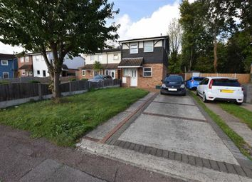 Thumbnail 3 bed end terrace house for sale in Cockerell Close, Basildon, Essex