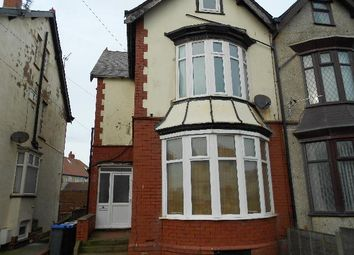 Thumbnail 1 bed flat to rent in Cavendish Road, Blackpool