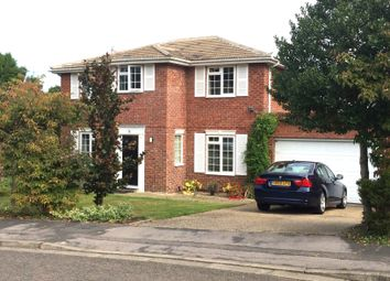 Thumbnail 4 bedroom detached house for sale in Barricane, Woking