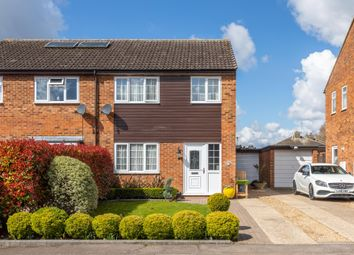 Thumbnail 3 bed semi-detached house for sale in The Mixies, Stotfold, Herts