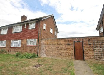 Thumbnail 1 bed flat for sale in Rowan Avenue, Egham, Surrey