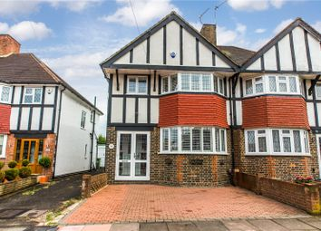 Thumbnail 3 bed semi-detached house for sale in County Gate, New Eltham, London