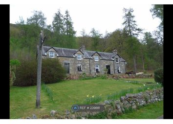 Thumbnail 4 bed detached house to rent in Bridge Of Balgie, Aberfeldy