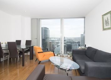 Thumbnail 1 bedroom flat for sale in The Landmark, East Tower, Canary Wharf