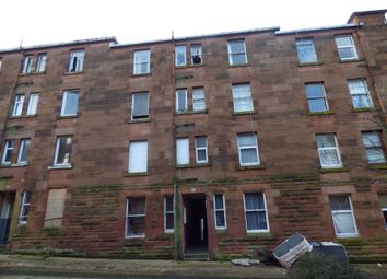 Thumbnail 1 bed flat for sale in Wallace Street, Port Glasgow