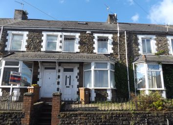 Thumbnail 3 bed terraced house for sale in Mill Road, Caerphilly