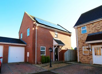 Thumbnail 3 bed detached house for sale in Kingfisher Court, Claylake, Spalding