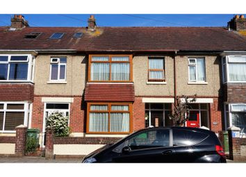 Thumbnail 3 bed terraced house for sale in Westwood Road, Portsmouth