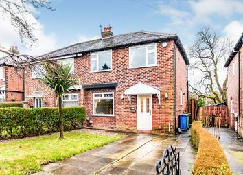 Thumbnail 3 bed semi-detached house for sale in Edward Avenue, Bredbury, Stockport, Greater Manchester