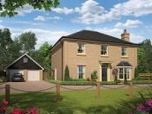 Thumbnail 4 bed detached house for sale in The Ambrose At St James Park, Off Cam Drive, Ely