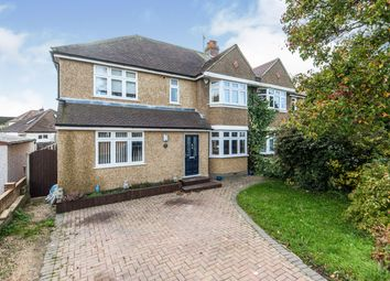 Thumbnail 5 bed semi-detached house for sale in Vallis Way, Chessington