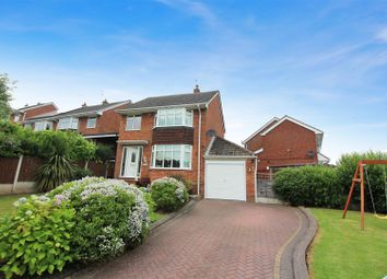 Thumbnail 3 bedroom detached house for sale in Hillside Avenue, Forsbrook, Stoke-On-Trent